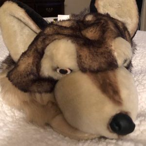 Other - Wolf head hat